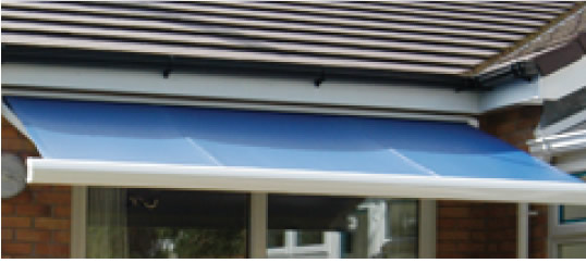 Excel Awnings - Fabrics and colours
